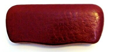 "Eyeglasses Hard Case Red Vine Color 6"" x 2.5"" x 1.5"""