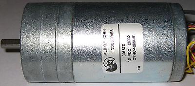 Merkle Korff Gearhead High Torque Motor W Tachometer Output - 12v - 85 Rpm