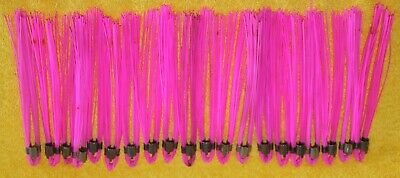 Lot Of 20 Presco Whisker Marking Whiskers 6 Inches Neon Pink Free Shipping