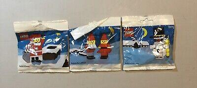 LEGO Christmas Sets ~ 1978: Build-A-Santa ~ 1979: Snowman ~ 1980: Santa's Elves
