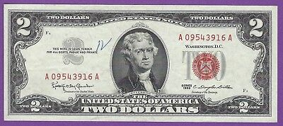 2 00 United States Note   1963   Granahan Dillon   A09543916a