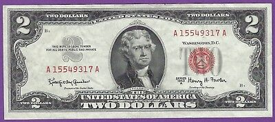 2 00 United States Note   1963 A   Granahan Fowler   A15566317a