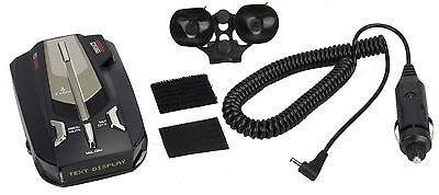 COBRA XRS-9670 PRO 15 Band Police Cop Digital Text Display Radar Laser Detector
