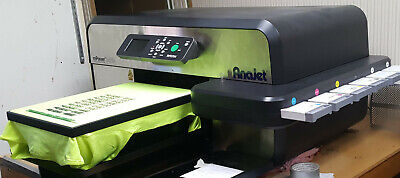 Anajet Mp5i Mpower Apparel Printer Dtg Direct To Garment Working Printer