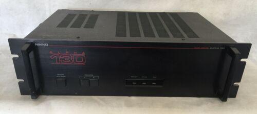 Nikko Alpha 130 Amplifier