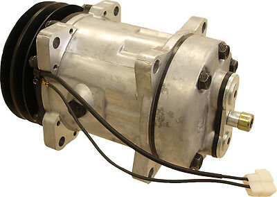 E8nn19d629aa Compressor Sanden Style For Ford New Holland 7710 7740 Tractors