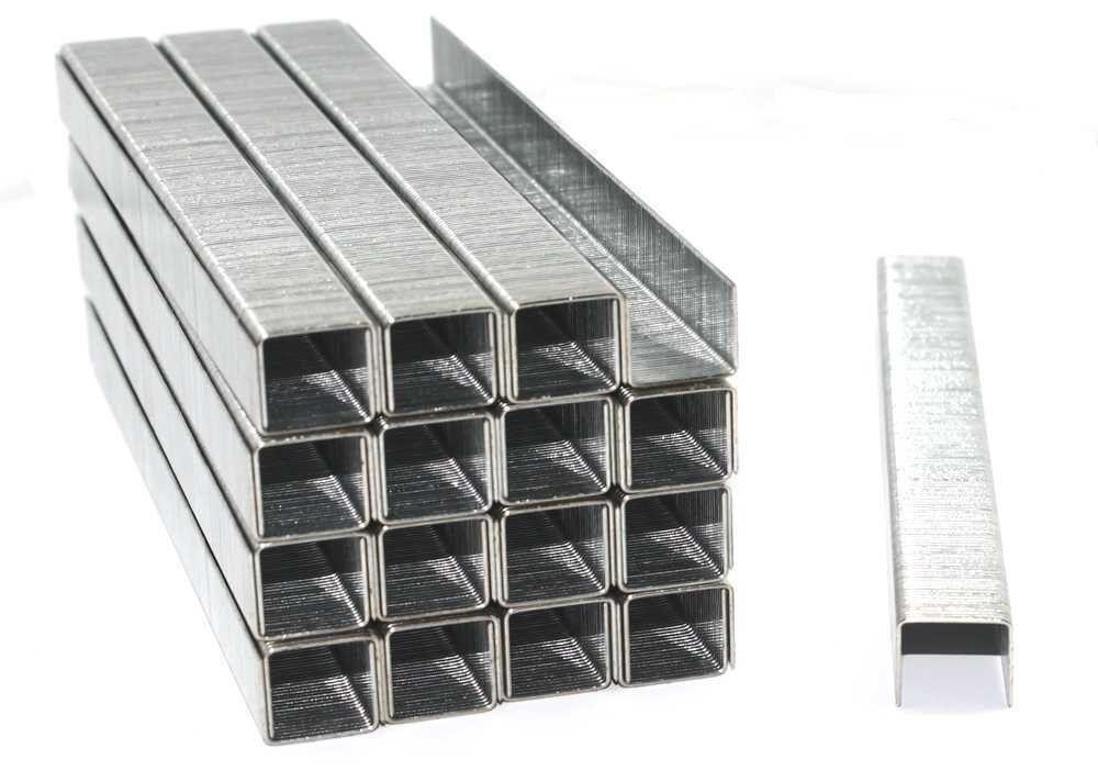 1000 Tackerklammern 8 mm TYP 53/8 Heftklammern Tacker Klammern Handtacker Hefter