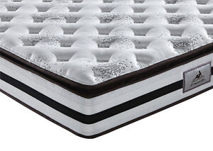 Brand New Natural Latex Pocket Spring Mattress 30cm Thick Melbourne CBD Melbourne City Preview
