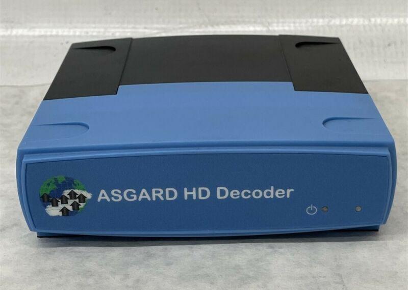 BBV ASGARD HD Decoder - IP Decoder Voltage PoE, Power LPS