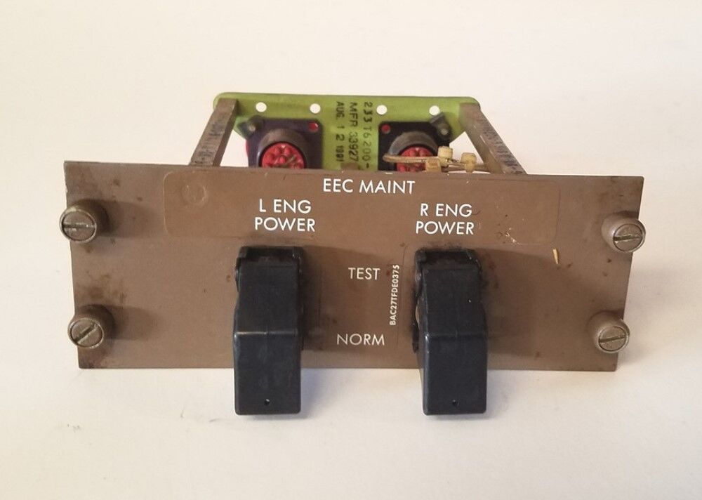 Boeing 757, 767 Aircraft Control Panel 233T4253-10