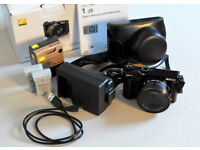 Nikon 1 J5 20.8MP Digital Camera. 10-30mm Lens. Unwanted gift. Shutter count less than 130.