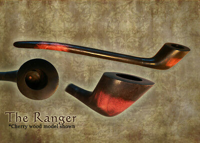 MacQueen Lord of The Fantasy Strider Churchwarden Ranger Pipe Smoke Rings -
