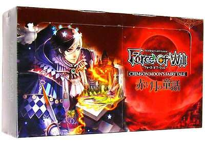 Crimson Moon's Fairy Tale - Booster Box - Force of Will - ENGLISH NEW - ABUGames