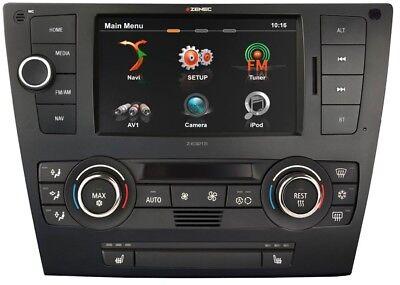 92 Usb (Zenec Autoradio für BMW 3er E90, E91, E92, E93 2-DIN Bluetooth/USB Radio Navi )