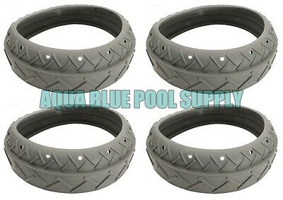 (Letro Legend Pool Cleaner Platinum Truck (4) Replacement Grey Tires Tire LLC1PMG)