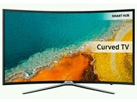 """SAMSUNG 40"""" Led curved smart wifi HD freeview fill hd 1080p new model k series."""