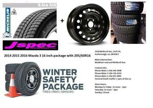 2016 2017 2018 2019 Mazda CX3 winter tires & rims package