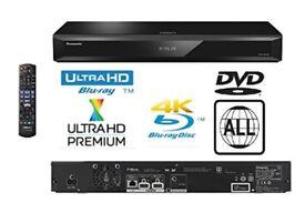 Panasonic 4K Ultra HD Blu-Ray Player DMP-UB700 - Black