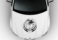 Black Eagle Decal For Your Vehicle Hood 24x23 Vinyl Sticker /$39