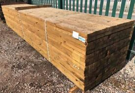 🚜Pressure Treated Wooden Lengths - £9.50