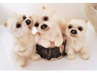 Garden Ornament - Small Terrier Dog Figurine ** ONLY £1 **