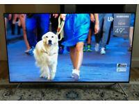 49in Samsung HDR 1000 4K 2300 PQI Smart UHD LED TV WiFi Freeview HD & FreeSat HD VCTRL Warranty