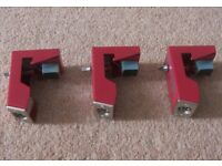 DDrum KIT Acoustic Trigger Set PRO 3 x Triggers for Tom-Toms / Red.
