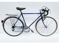 Vintage Raleigh Stratos steel racing/touring bicycle