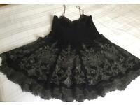 Karen Millen Black Mini Dress size 12
