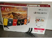LG 49'' 4K Smart LED TV boxed