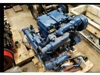 Narrowboat vintage boat engine lister petter 20HP 2 cylinder diesel. BEAUTIFUL completely rebuilt.