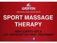 Mobile Sport Massage Therapist service