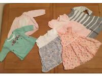 Baby girls clothes 0-3 months