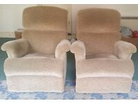 2 SOFA ARM CHAIRS