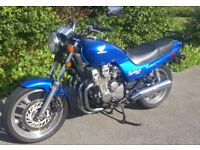 Honda CB750 Nighthawk 1993, superb original 21800 mile classic in Tahitian Blue