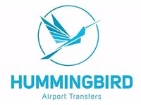 PCO MINICAB DRIVERS REQUIRED AT HUMMINGBIRD AIRPORT TRANSFERS