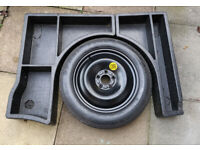 Ford Focus ST Mk2 spare wheel and foam boot surround