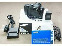 Samsung NX10 14.6MP Digital Camera - Black (Body only)