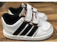 Baby boy adidas shoes Size UK 3K