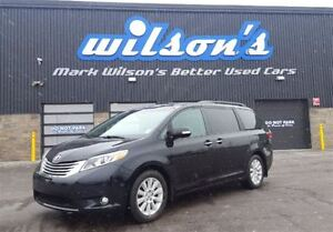 2015 Toyota Sienna LIMITED! RARE AWD!! DVD! NAVIGATION! LEATHER!