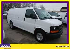 2011 Chevrolet Express 2500 CARGO VAN , BACK WINDOWS ONLY