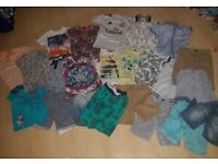 Bundle of boys summer clothes age 4-5