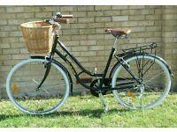 Black Dutch style bike