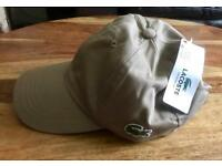 Brandnew Mens Lacoste beige Cap with tags cheap boy BNWT