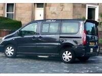 Black cab for rent in Edinburgh. Day and night shift.