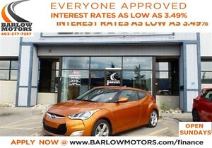 2013 Hyundai Veloster ONE OWNER! **AMVIC INSPECTION & CARPROOF P