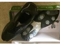 Men's size 9 golf shoes - black