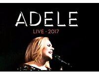 2 X Adele Tickets Sat 1st July
