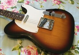 Fender Baja Telecaster Body 60s Sunburst Classic Player Tele Loaded Stratocaster Gibson Martin