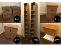 Various Wooden Furniture